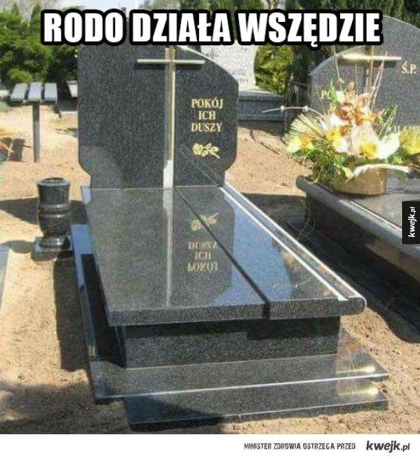 Rodo na cmentarzu