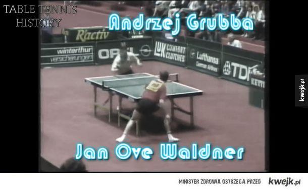 Table Tennis History - Legenda Andrzeja Grubby, YT: ALTS Trójmiasto
