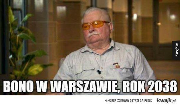 Bono w Polsce
