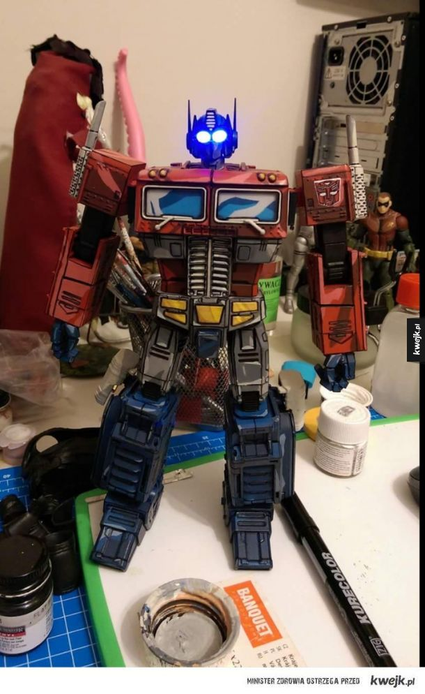 Optimus prime custom painting