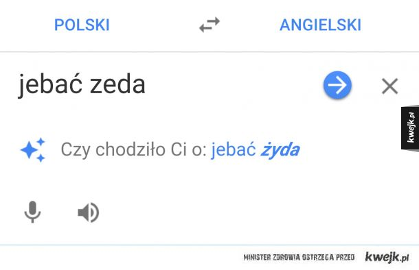 Antysemickie google