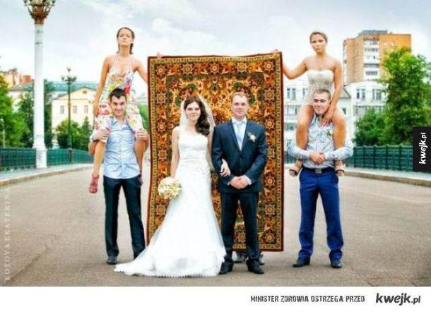 Rosjanie naprawdę kochają dywany...