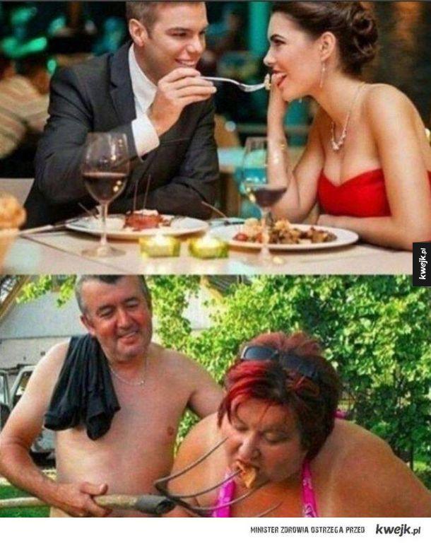 Ciężko być romantykiem, ale liczą się dobre chęci...