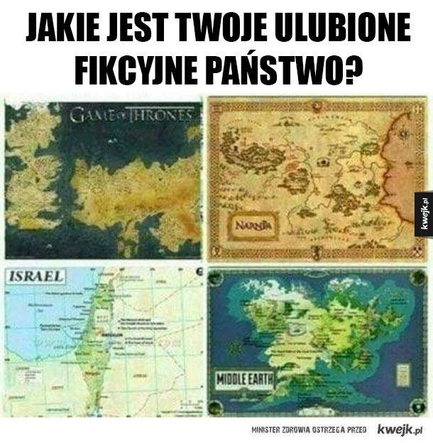Fikcyjne państwa