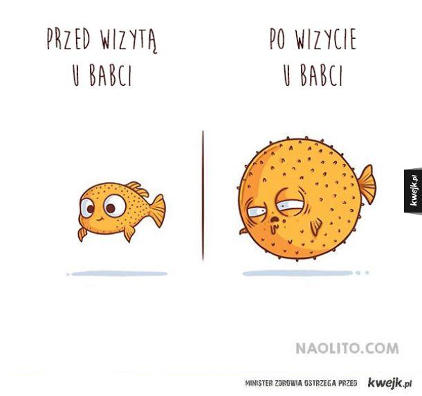 """""""Przed i po"""" na ilustracjach Naolito"""