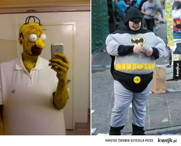 Niezbyt udane cosplaye