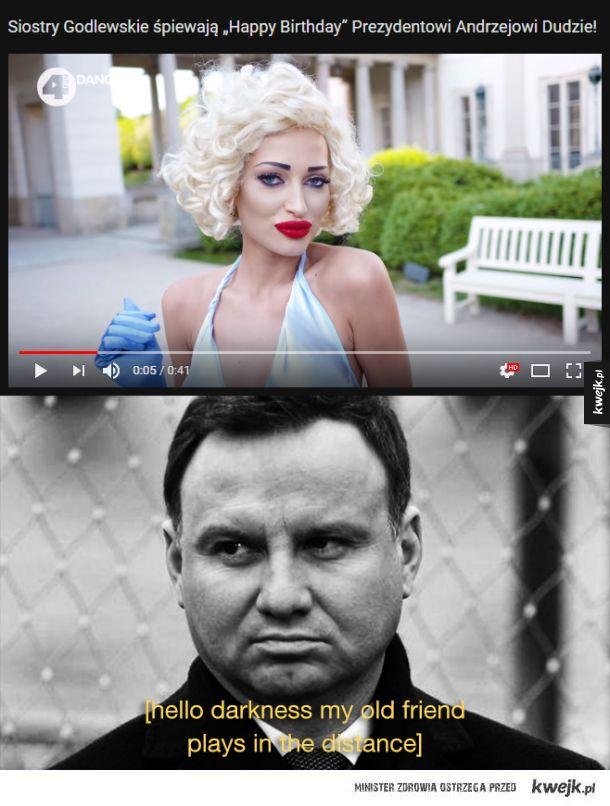 Jaki prezydent, takie Marilyn XD