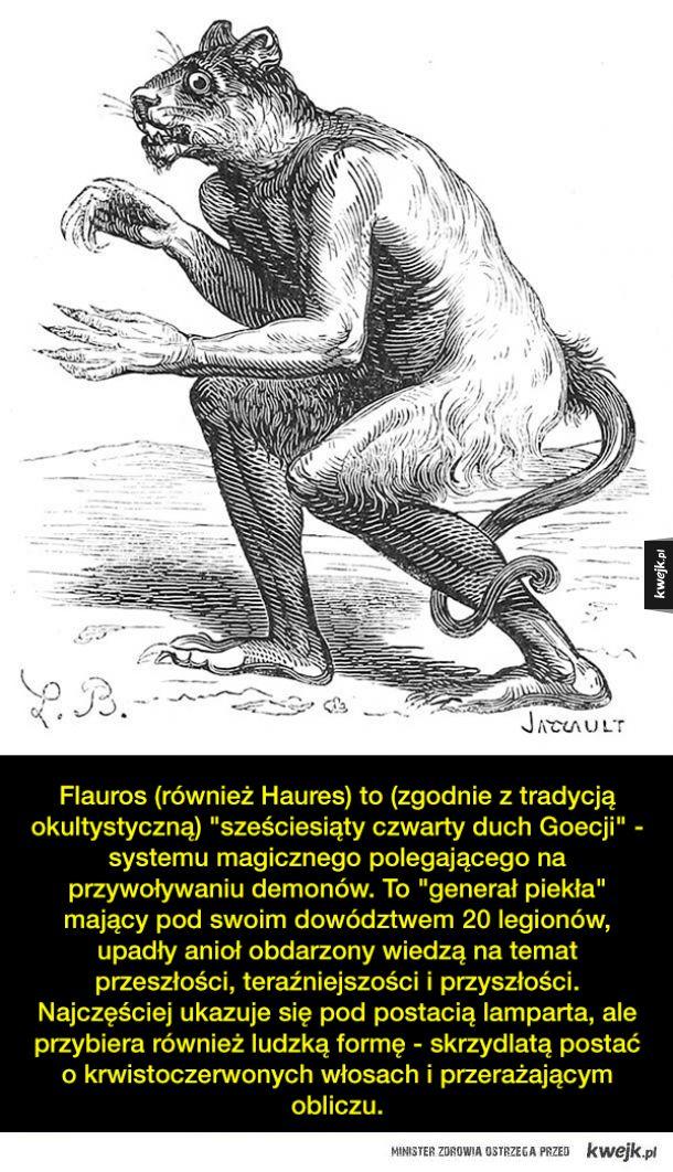Demony i stwory z różnych wierzeń i mitologii