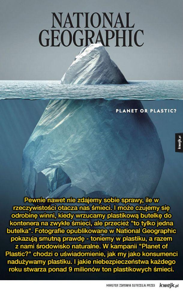"""""""Planeta czy plastik"""" - seria szokujących fotografii National Geographic"""