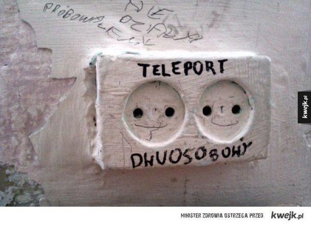 Teleport dla pary
