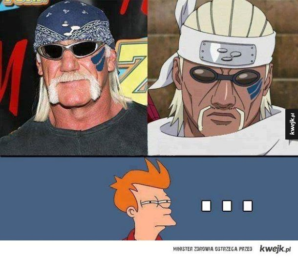 Hulk Hogan prawdziwy ninja (w sumie, moze ich teraz pozwac o prawa)
