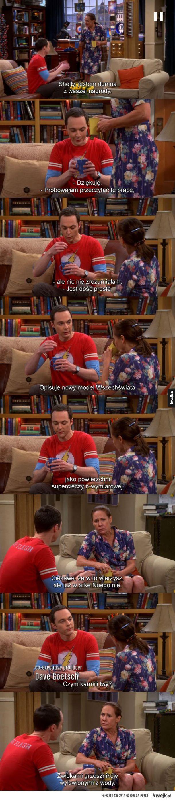 Sheldon z mamą