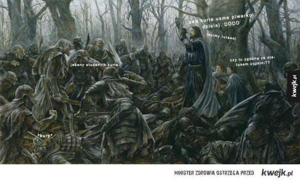 Studencie życie Boromira :v