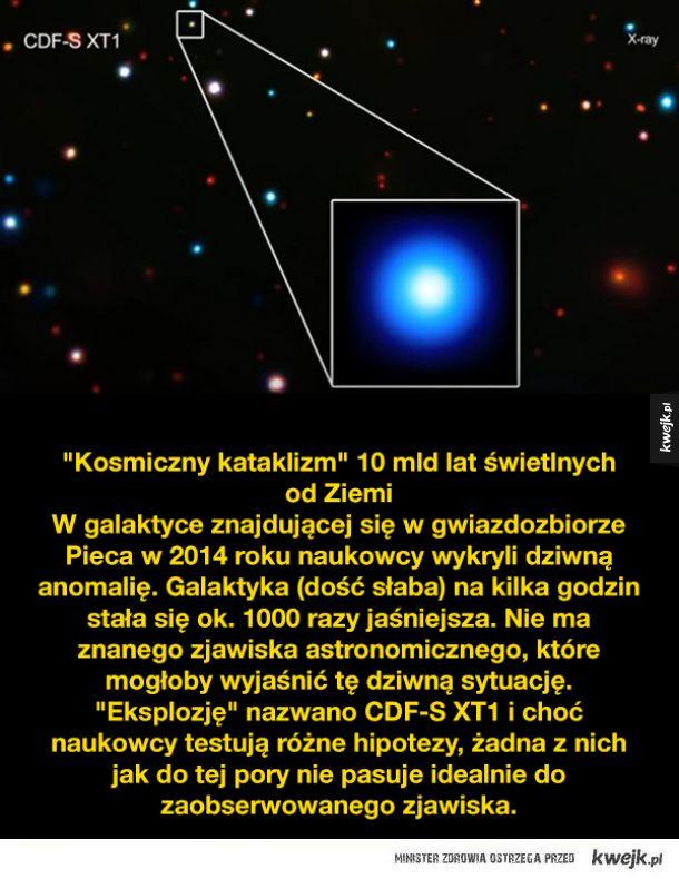 Dziwne i niewyjaśnione kosmiczne zjawiska i sytuacje