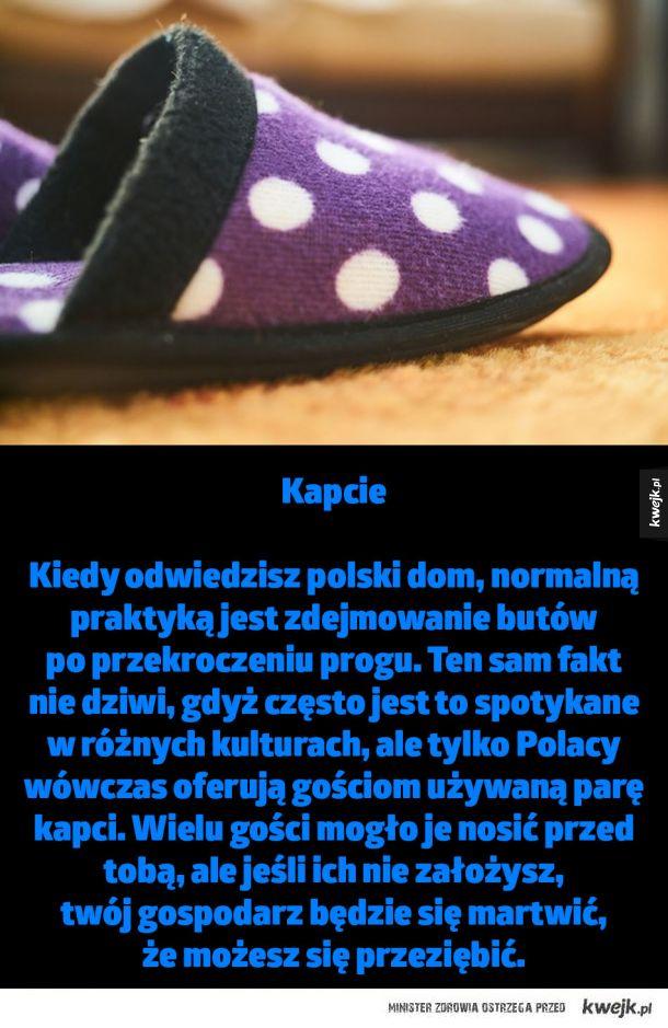 Dziwactwa z których mogą być znani tylko Polacy