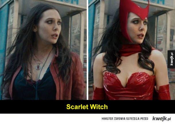 Niektórzy Avengersi są całkiem podobni do swoich komiksowych wersji, inni nieco mniej