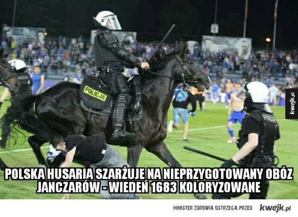 Szarża Polskiej Husarii