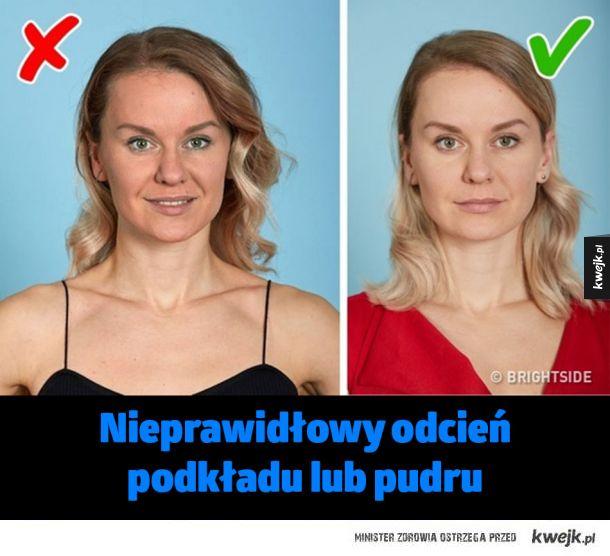 Błędy, które sprawiają, że nie wyglądasz zbyt atrakcyjnie