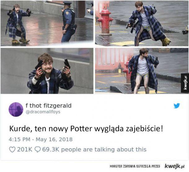 Internauci śmieszkują z nowej roli Daniela Radcliffe'a