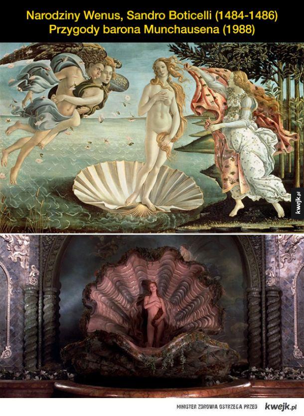 Obrazy odtworzone w filmach