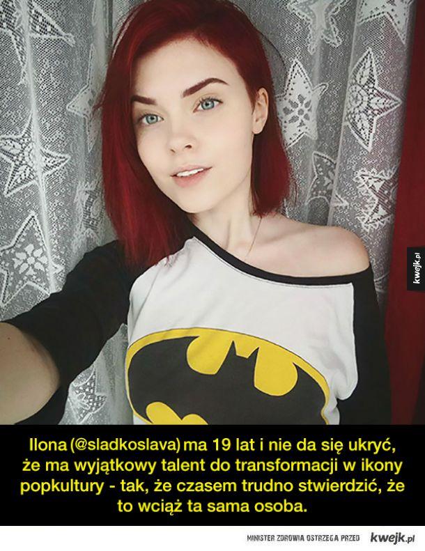 19-letnia rosyjska cosplayerka potrafi przemienić się w prawie każdego