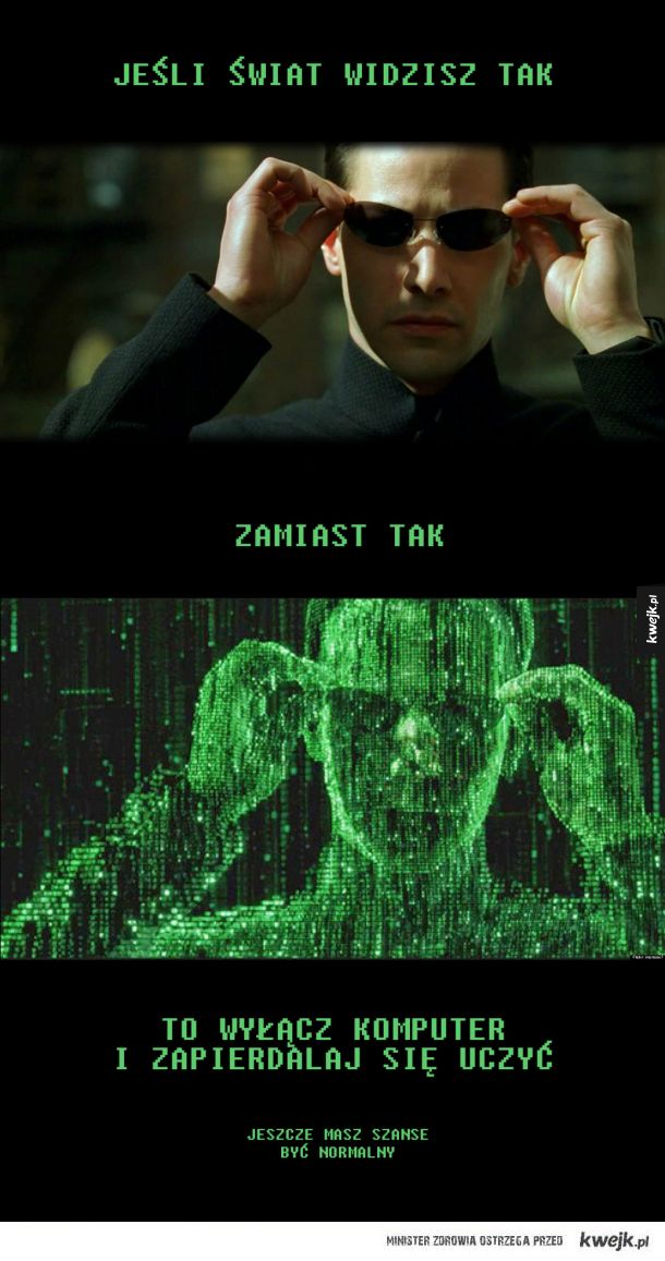 Way out from The Matrix