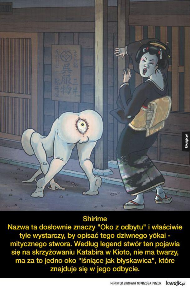 Dziwne stwory z japońskich legend i wierzeń