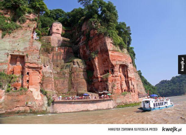 Wielki Budda z Leshan (Leshan, Chiny)