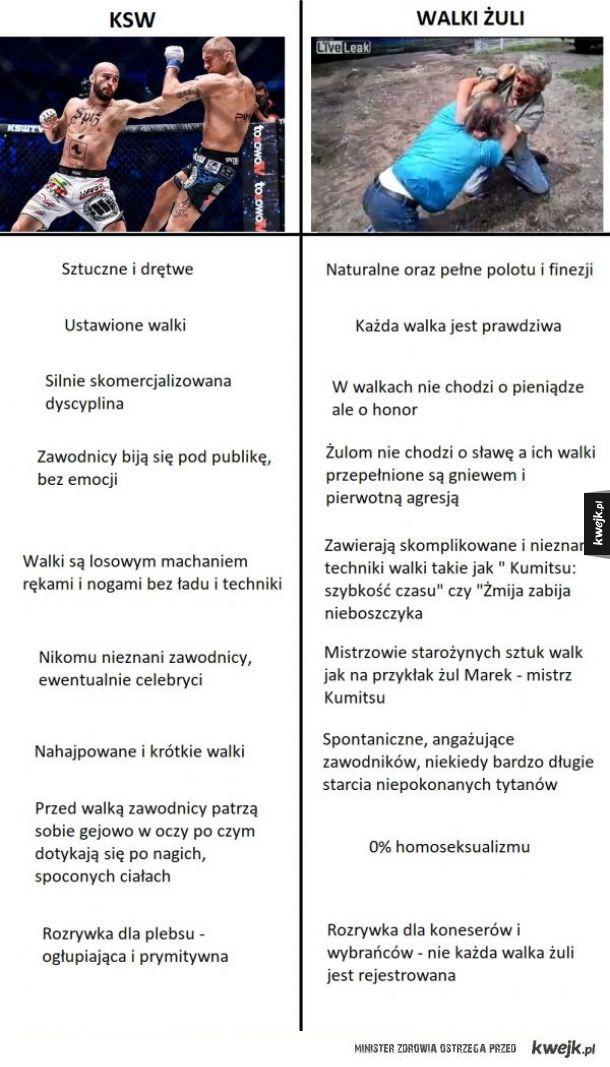 KSW vs. walki żuli