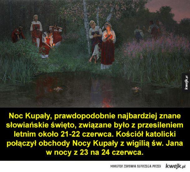 Słowiańskie zwyczaje i obrzędy