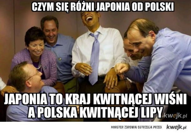 Różnica między Japonią, a Polską