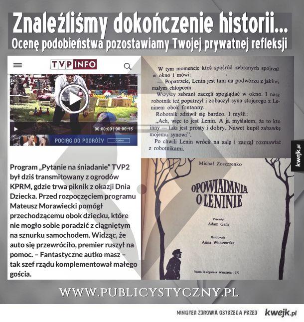 Gdy propaganda nie mieści się na paskach w TVP