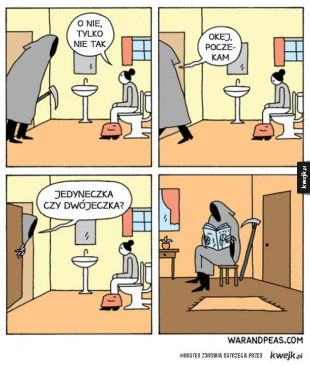 Komiksy War and Peas