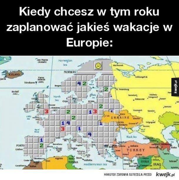 Wakacje w Europie