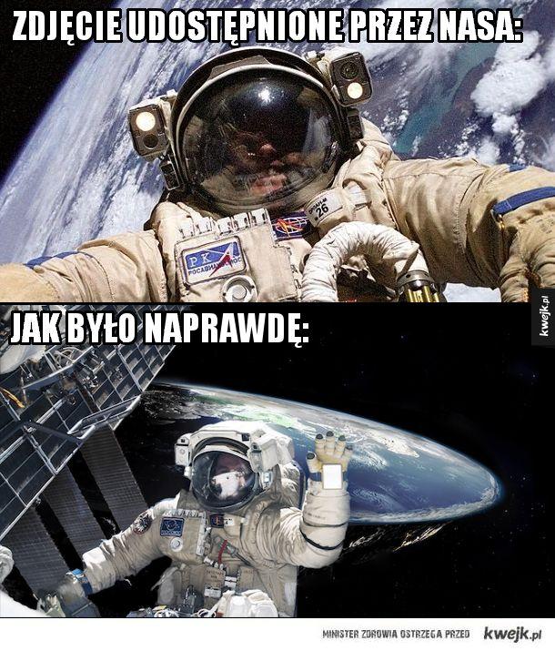 Zdjęcia robione w kosmosie