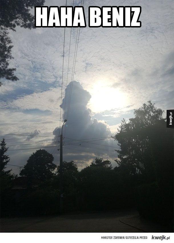 Śmieszna chmura