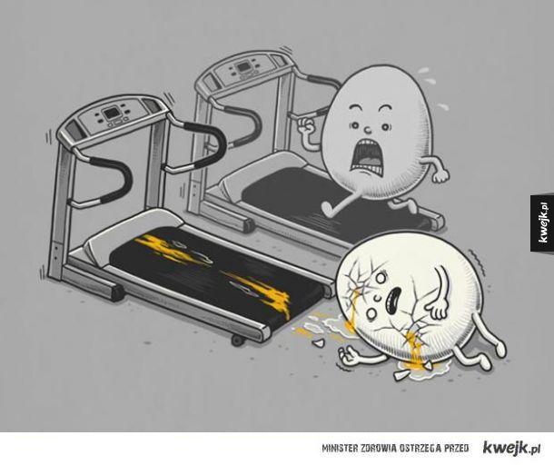 Przepełnione czarnym humorem ilustracje Bena Chena