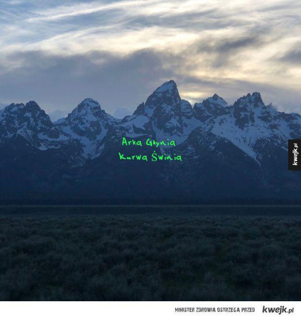 Nowa okładka płyty Kanye Westa