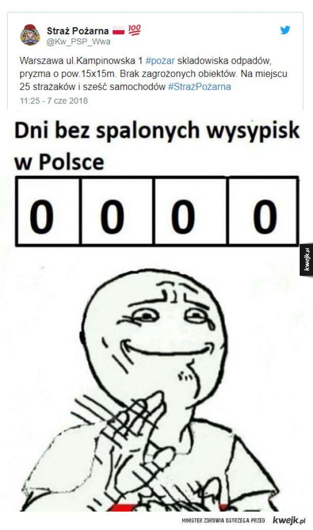 W Polsce się jara