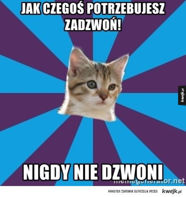 Autystyczny kotek 1.