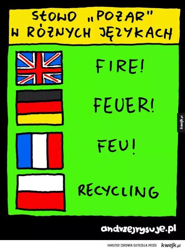 Słowo w różnych językach