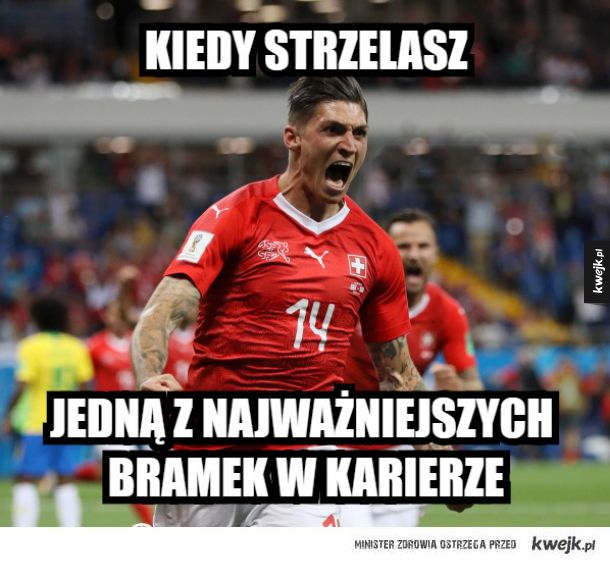 Memy po meczu Brazylia - Szwajcaria