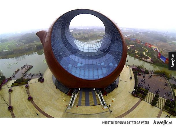 Budynek w kształcie imbryku (Wuxi, Chiny)