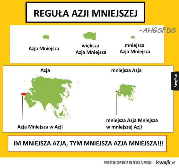 Reguła Azji mniejszej