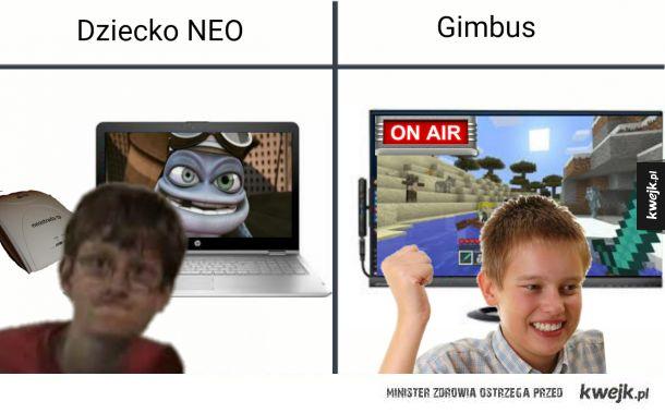 RÓŻNICE: Dziecko NEO - Gimbus