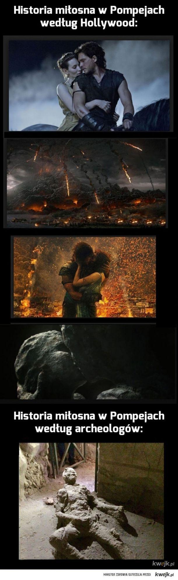 Historia miłosna w Pompejach