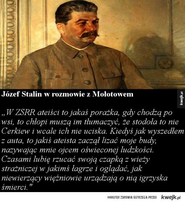 Stalin w rozmowie z mołotowem