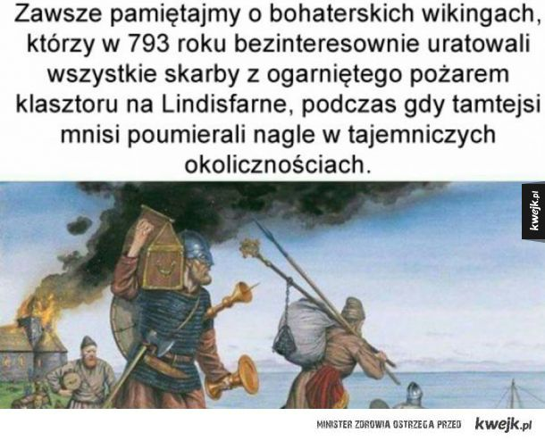 Pamiętajmy o wikingach