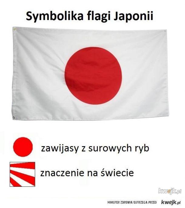 Flaga Japonii
