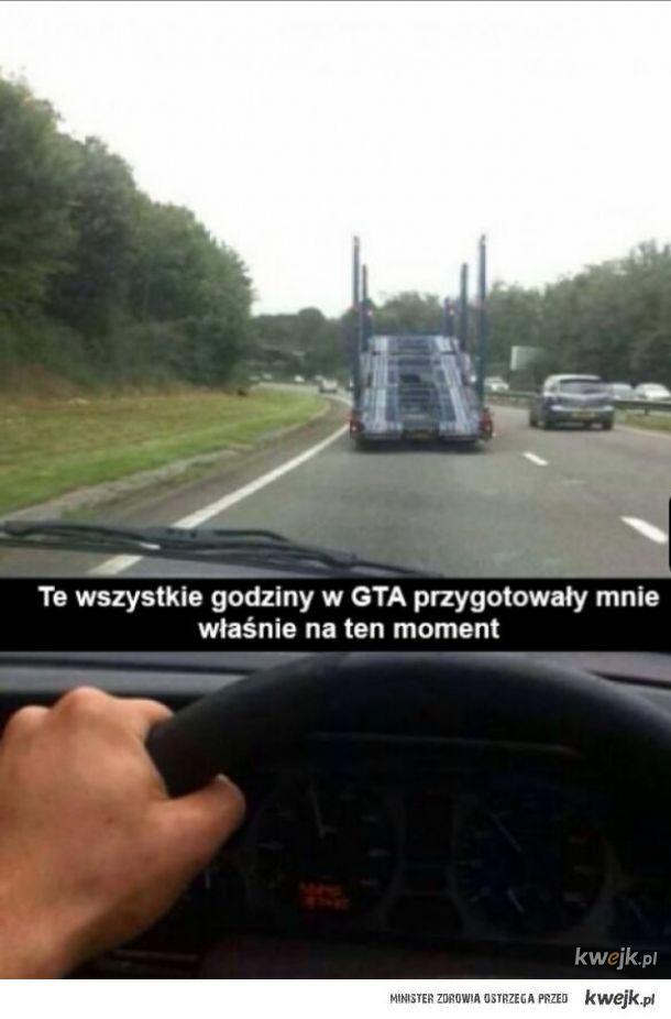 GTA uczy.